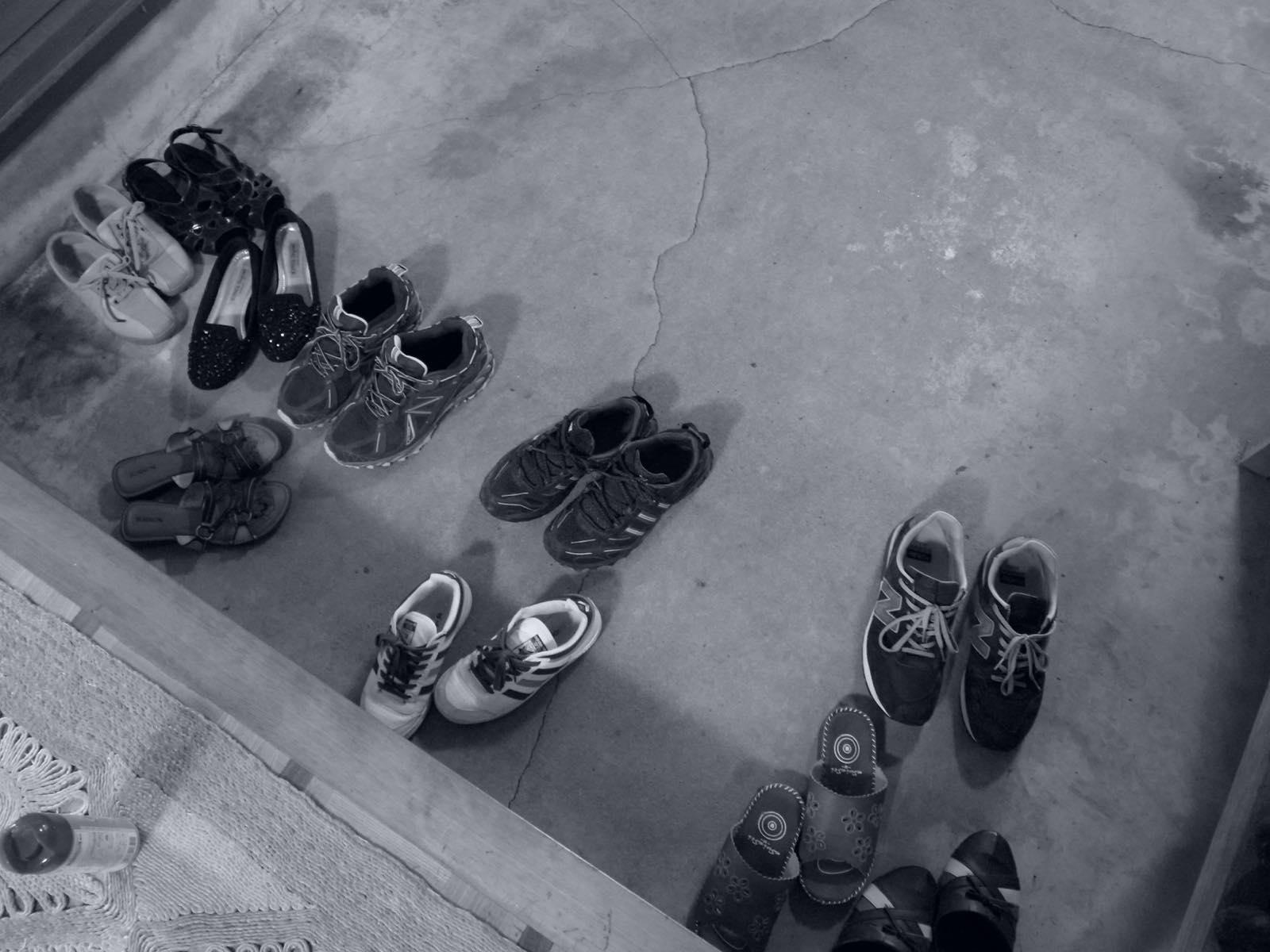 お盆は靴が増える