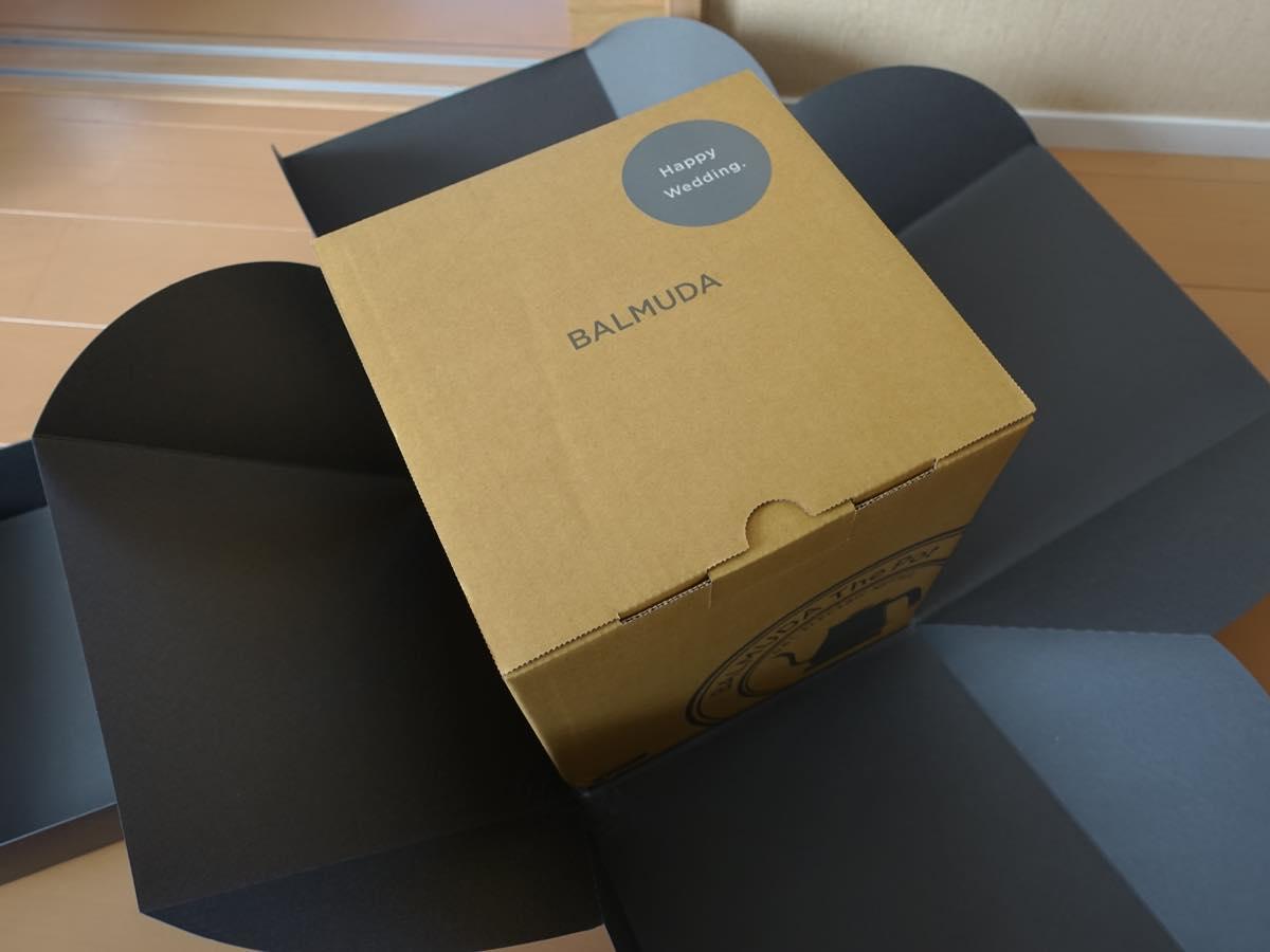 BALMUDA The Potのパッケージ