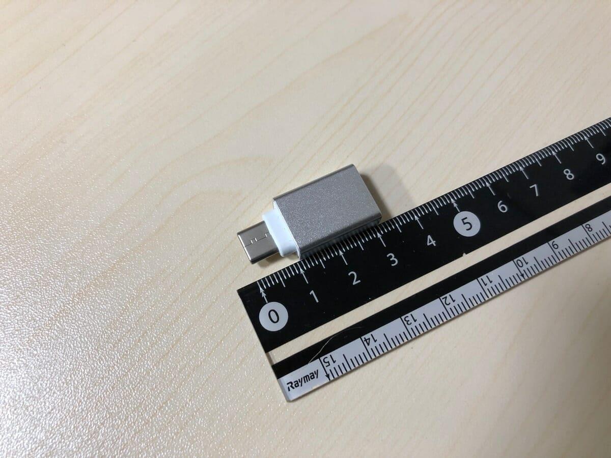 ダイソー USB-C変換アダプタ