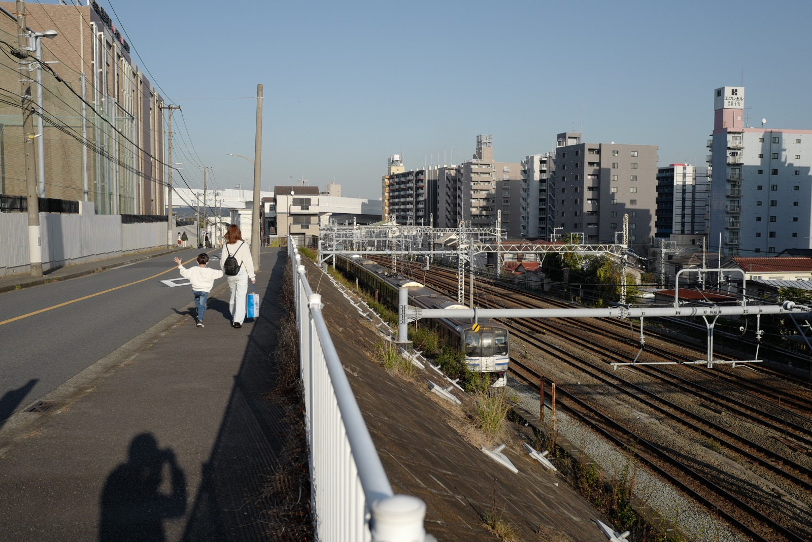 親子と横須賀線