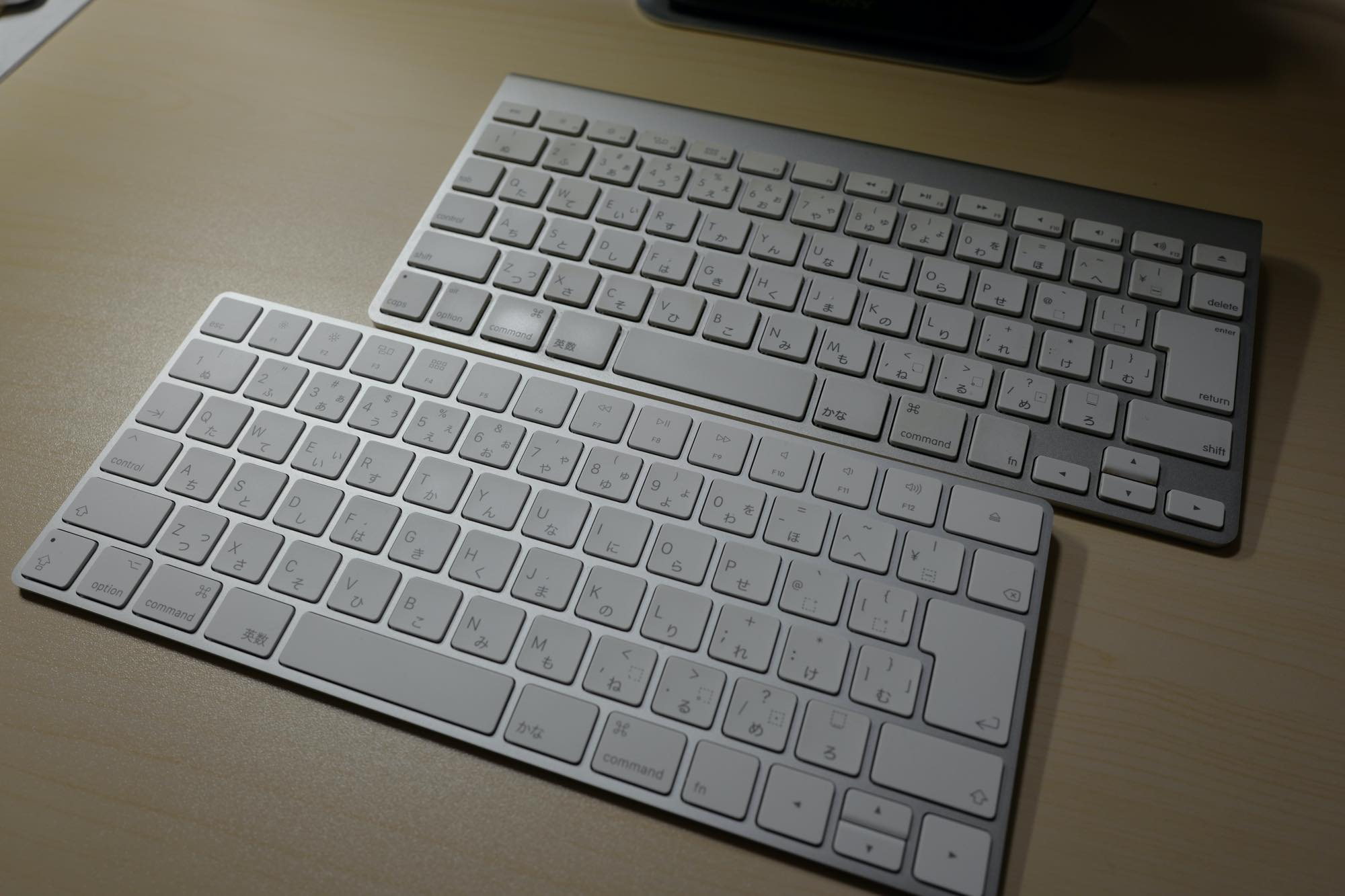 Apple Magic KeyboardとWireless Keyboard
