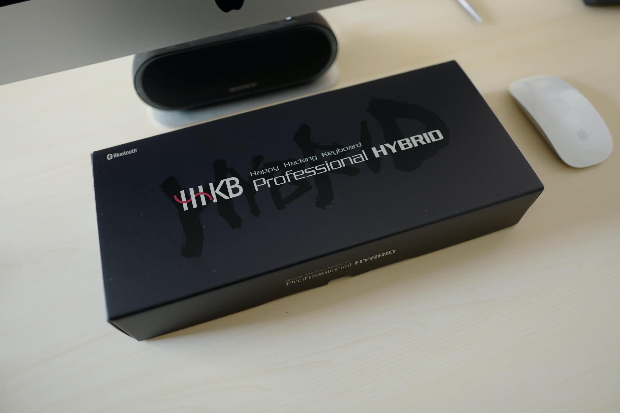 Happy Hacking Keyboard Professional HYBRID Type-S 日本語配列のパッケージ