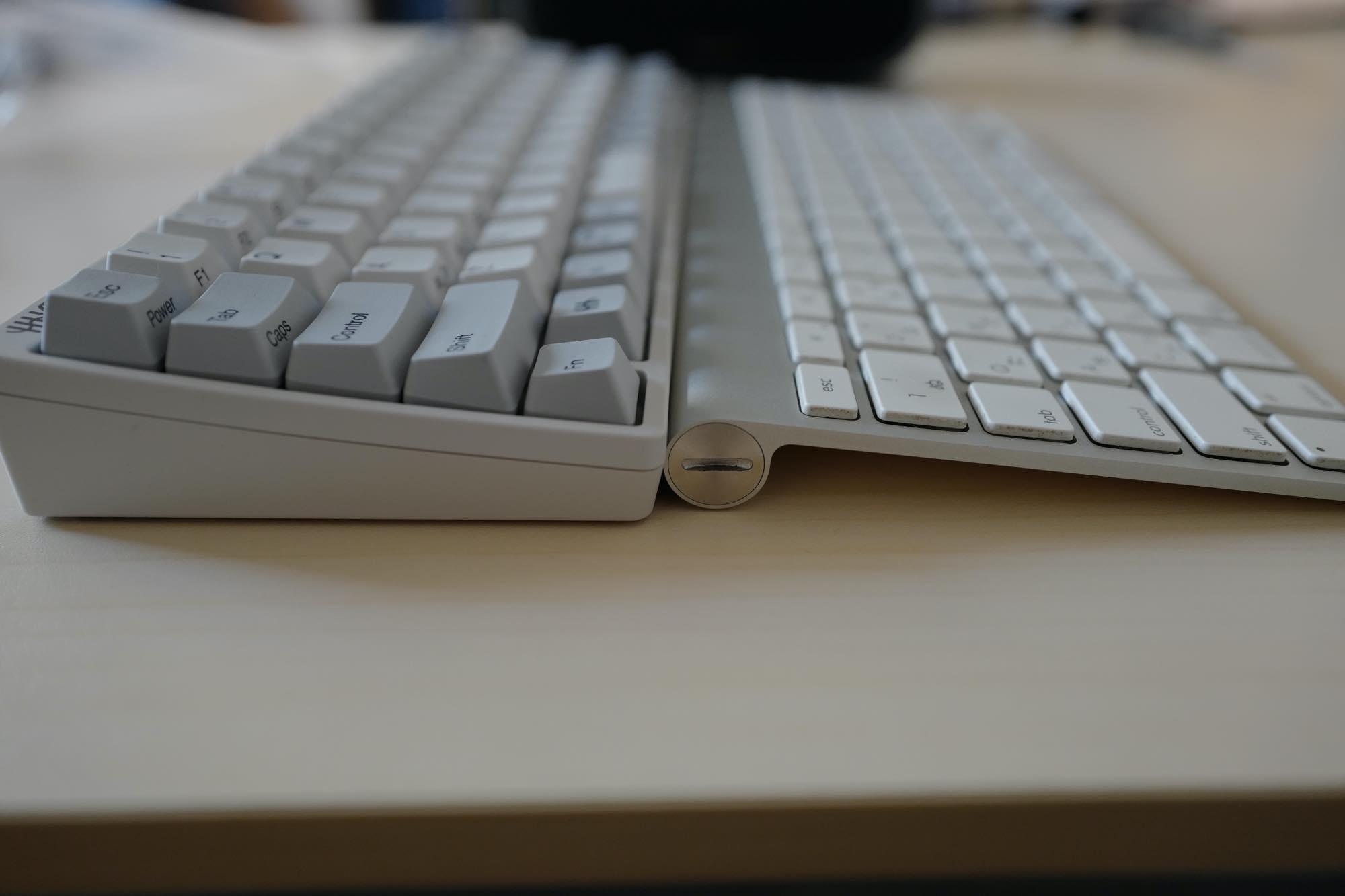 Apple Wireless KeyboardとHHKB