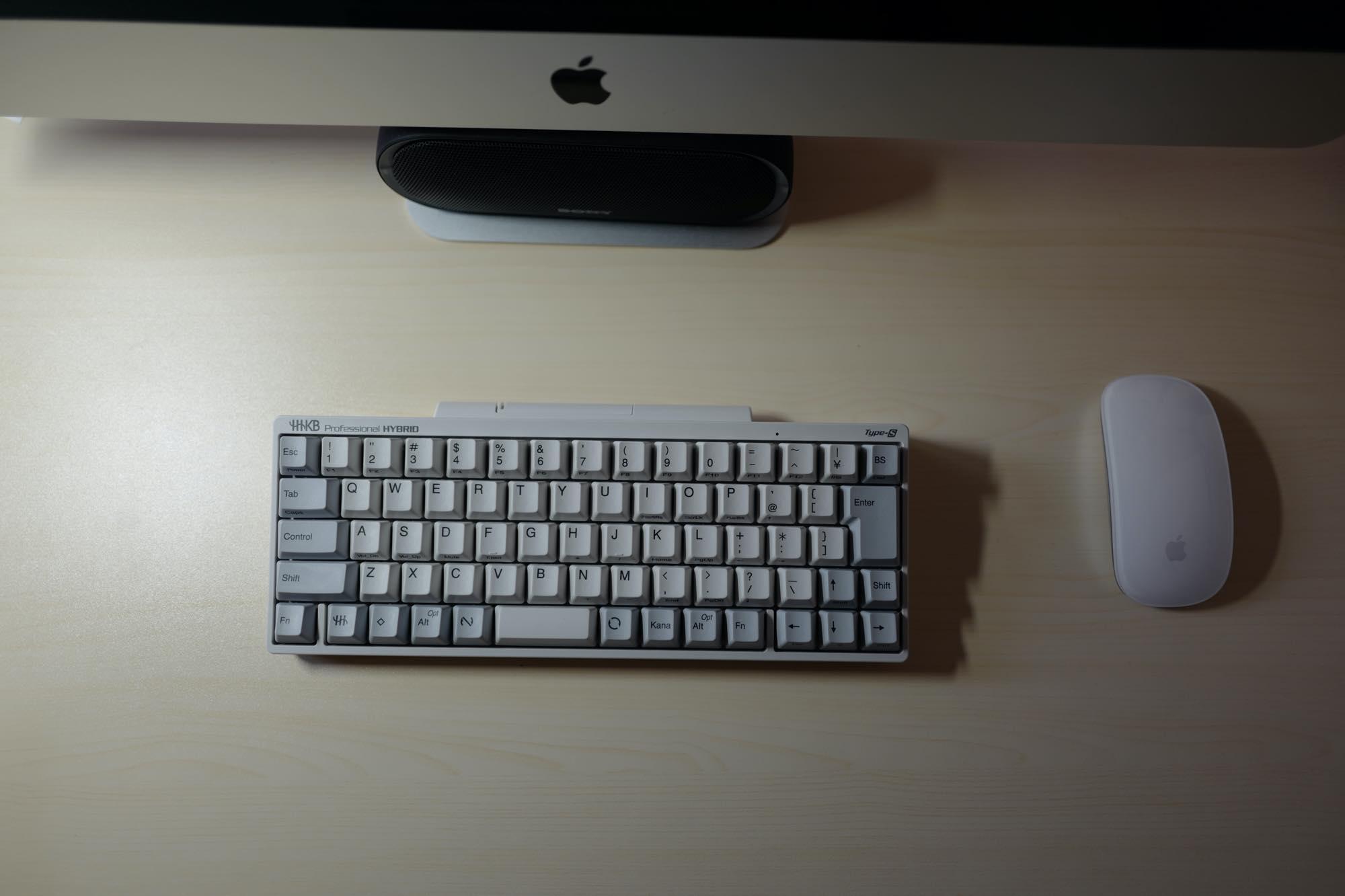iMacとHHKB